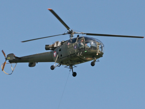 Alouette III - SA-316B Austria - Air Force
