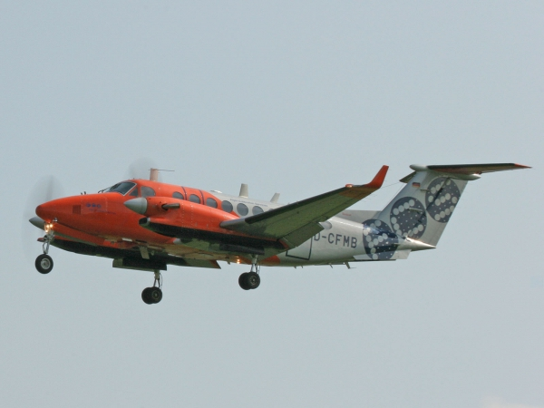 Beechcraft King Air 350 D-CFMB