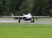 De Havilland DH-100 Vampire J-1082 HB-RVE