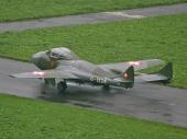 De Havilland DH-115 Vampire Trainer ex U-1228 HB-RVJ