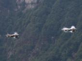 Ablösung Hawker Hunter T Mk.68 ex J-4203 und Hunter ex J-4205
