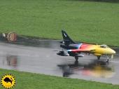 Hawker Hunter T Mk.58 ex J-4104 der Glarner Fliegerstaffel 20. G-PSST 'Miss Demeanour