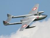 De Havilland DH-100 Vampire Mk.6 ex J-1197 HB-RVN