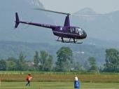 Robinson R44 Raven II G-RUZZ