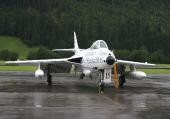 Hunter F.Mk.58 J-4040 HB-RVS Papyrus