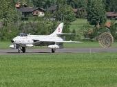 Hawker Hunter Mk 58 J-4040 HB-RVS Papyrus Hunterverein Obersimmental