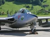 De Havilland DH-100 MK.6 Vampire J-1197 HB-RVN