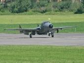 De Havilland DH-115 Vampire T55 U-1228 HB-RVJ of Flying Museum Altenrhein