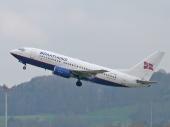 Braathens LN-TUD Boeing 737-705