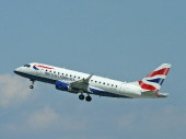 British Airways (BA CityFlyer) G-LCYI Embraer ERJ-170-100ST 170ST