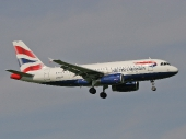 British Airways G-EUPZ Airbus A319-131