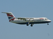 British Airways G-BXAR Avro Regional Jet RJ100