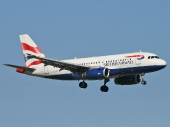 British Airways G-EUPS Airbus A319-100