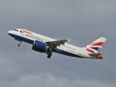 British Airways G-EUPT Airbus A319-131