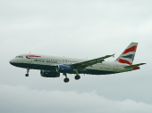 British Airways G-EUUK Airbus A320-232