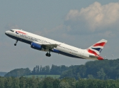 British Airways G-EUUR Airbus A320-232