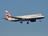 British Airways G-EUXK Airbus A321-231
