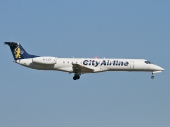 City Airline SE-DZB Embraer ERJ-145