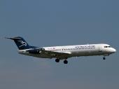 Montenegro Airlines 4O-AOM Fokker100