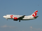 Czech Airlines (CSA) OK-EGO Boeing 737-55S