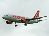 easyJet Airline G-EZTJ Airbus A320-214