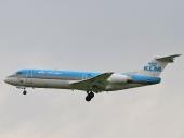 KLM - Royal Dutch Airlines PH-KZN Fokker 70 (F-28-0070)