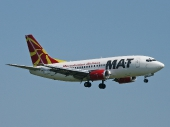 Macedonian Airlines Z3-AAH Boeing 737-529