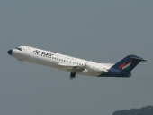 Malev - Hungarian Airlines HA-LMF Fokker 70 (F-28-0070)