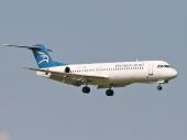 Montenegro Airlines YU-AOL Fokker F-100
