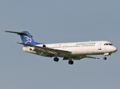 Montenegro Airlines YU-AOT Fokker F-100
