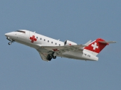 Rega Swiss Air-Ambulance HB-JRB Canadair Challenger CL-600-2B16