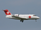 Rega Swiss Air-Ambulance HB-JRA Canadair Challenger CL-600-2B16