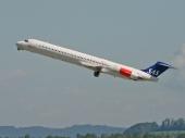 Scandinavian Airlines SAS LN-RLE McDonnell Douglas MD-82