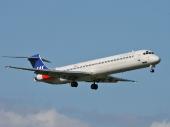 Scandinavian Airlines SAS LN-ROM McDonnell Douglas MD-81