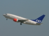 Scandinavian Airlines SAS LN-RPA Boeing 737-683