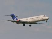 Scandinavian Airlines SAS McDonnell Douglas MD-81
