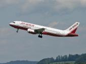Air Berlin (Belair) HB-IOW Airbus A320-214