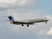 Scandinavian Airlines SAS SE-DIN McDonnell Douglas MD-82