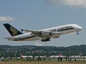 Singapore Airlines 9V-SKJ Airbus A380-841