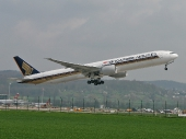 Singapore Airlines 9V-SWJ Boeing 777-312(ER)