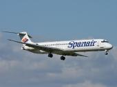 Spanair EC-GCV McDonnell Douglas MD-82