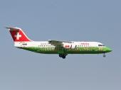 Swiss HB-IYS Avro RJ100