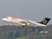 Swiss HB-IYV Avro Regional Jet RJ100