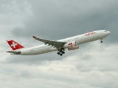 SWISS HB-JHE Airbus A 330-343E Fribourg