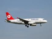Turkish Airlines TC-JLN Airbus A319-132