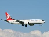 Turkish Airlines TC-JFF Boeing 737-8F2