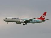 Turkish Airlines TC-JGU Boeing 737-8F2