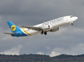Ukraine International Airlines UR-GAV Boeing 737-4C9