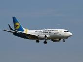 Ukraine International Airlines UR-GAU Boeing 737-5Y0