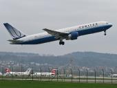 United Airlines N663UA Boeing 767-322/ER
